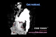 Fish Vision UV Get Noticed Sticker